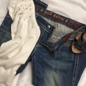 Jewel 💎 Studded Jeans